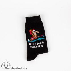 A legjobb tűzoltó zokni