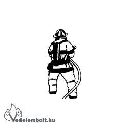 Tűzoltó matrica