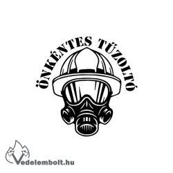 Önkéntes tűzoltó matrica